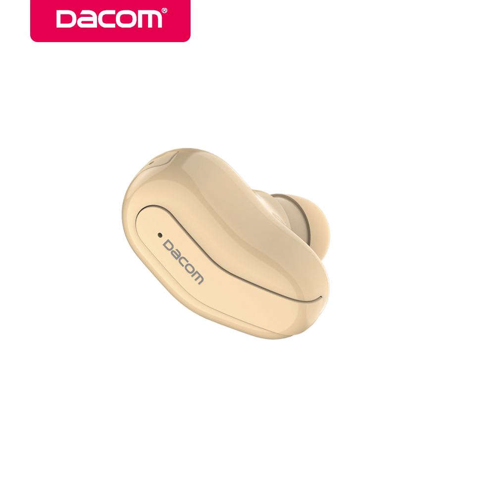 DACOM K8 Bluetooth Earphone Mini Mono Earbuds Single Hidden Earpiece Invisible Wireless Headset Business for Android IOS Phone mi mini invisible car calls wireless bluetooth earphone headset portable for phone