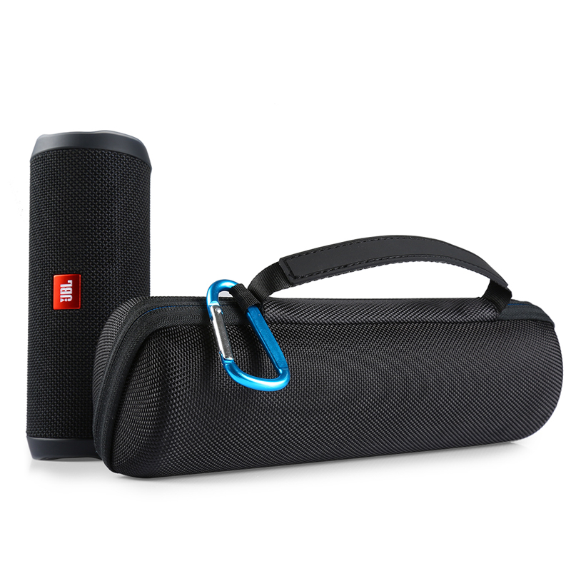 New PU Carry Protective Carry Cover Case For JBL Flip 4 Flip4 Wireless Bluetooth Speaker Additional Space(only Case)