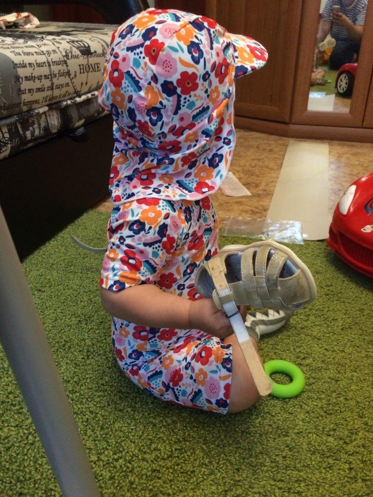 Maiôs menina recém-nascido swimsuit