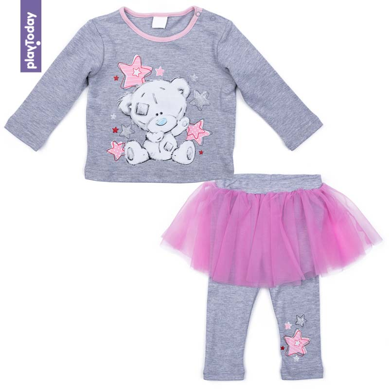 Baby's Sets PLAYTODAY for girls 578802 Children clothes kids clothes girls outfits for kids jeans clothes sets denim jackets