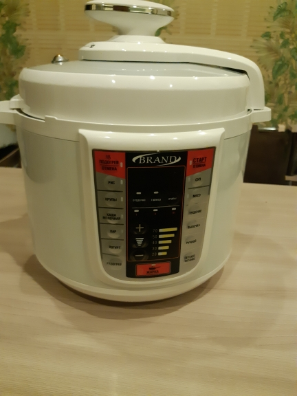BRAND6051 Electric Pressure Cooker, 5L multicooker, Multivarka Cooking fast Rice Steamer Digital control