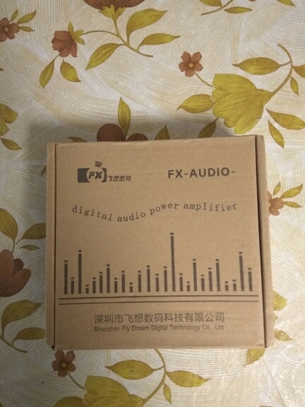 FX-Audio FX502E Hifi 2.0 TDA7498L NE5532P Desktop Computer Speaker High Power Pure Digital Audio Amplifier Power Output 68W*2