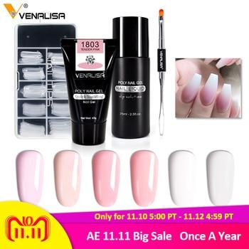 Poly Gel Nail Extension Set
