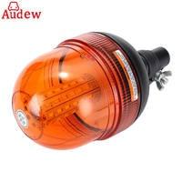 1Pcs 60LED 5730 Car LED Rotating Flashing Amber Beacon Flexible Warning Light 12V 24V For Tractor