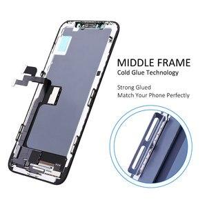 Image 5 - Elekworld sınıfı yumuşak OLED GX için iPhone X LCD ekran 3D dokunmatik ekran Digitizer meclisi yedek parçalar esnek OLED