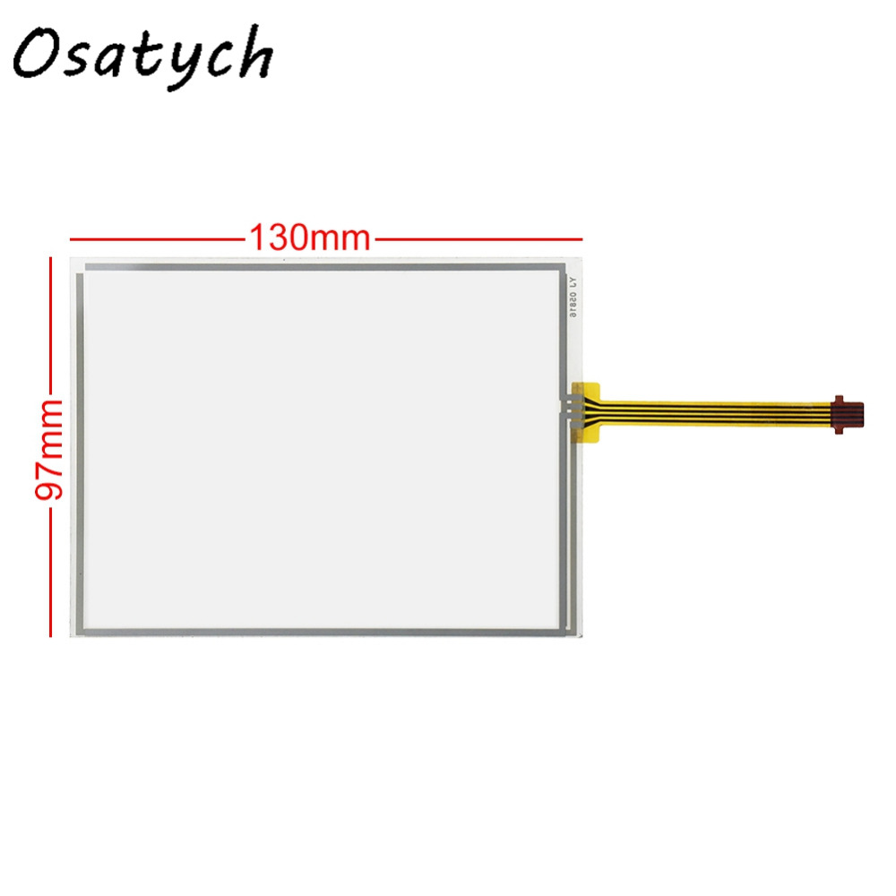 New 5.7inch 130*97mm Touch Panel for KCG057QV1DC-G00 Touch Screen Digitizer Panel Glass 130mm*97mm 97*130mm 97mm*130mm