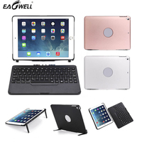 Eagwell Detachable Tablet Case + Wireless Bluetooth 7 colors Backlit Keyboard For iPad 9.7 2017/2018 A1822 A1823 A1893 A1954