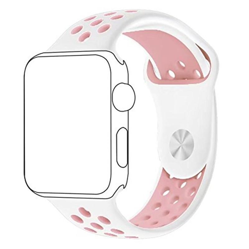ashei мягкий кремний реванш для Apple часы серии 3 2 1 замена спортивный реванш браслет для 38 мм 42 мм iwatch от Ромни