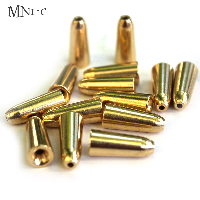 MNFT 1Pack Bullet Copper Sinker Weight Fast Sinking DIY Lure Bait Accessories1.8/3.5/5/7/10g Copper Material Fishing