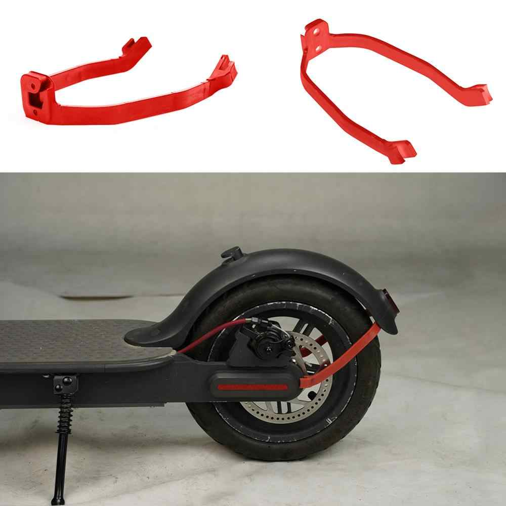 For Xiaomi M365 and M365 PRO High Density Nylon Front Rear Mudguard Support Electric Scooter Rear Fender Mudguard Fender Brack