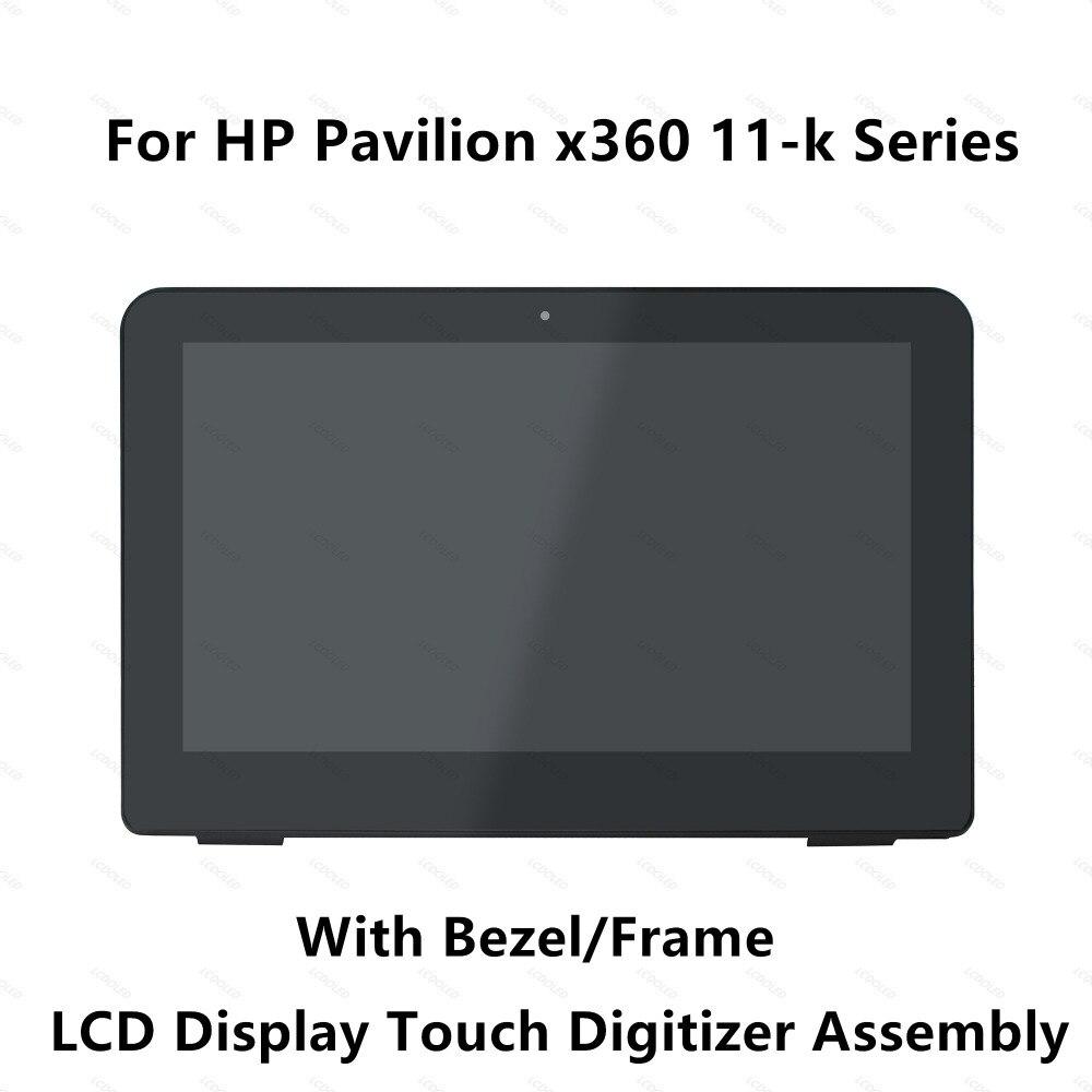 "11.6 ""Touch Screen Glass Digitizer จอแสดงผล LCD + กรอบสำหรับ HP Pavilion 11 k100nq 11 k100nu 11 k109no 11 k101ns 11 k102ns-ใน หน้าจอ LCD ของแล็ปท็อป จาก คอมพิวเตอร์และออฟฟิศ บน AliExpress - 11.11_สิบเอ็ด สิบเอ็ดวันคนโสด 1"