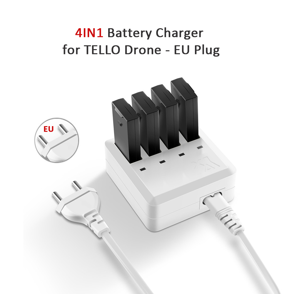 3 in 1 Battery Charger Intelligent Quick Charging Hub for DJI Tello Drone CZ