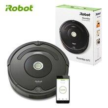 IRobot Roomba 671 робот пылесосы для автомобиля технология грязи обнаружить все в одном этаже умный Электрическая Швабра ковры волос пыли APP