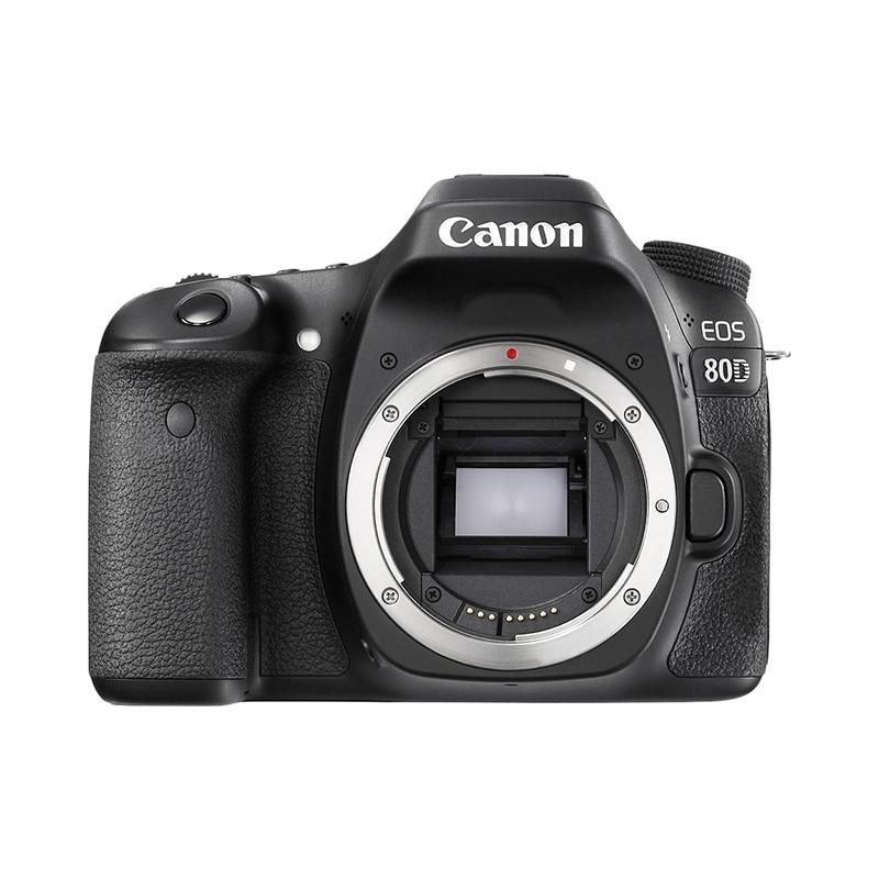 Фото - DSLR Camera Canon EOS 80D Body black сумка для видеокамеры 100% dslr canon nikon sony pentax slr