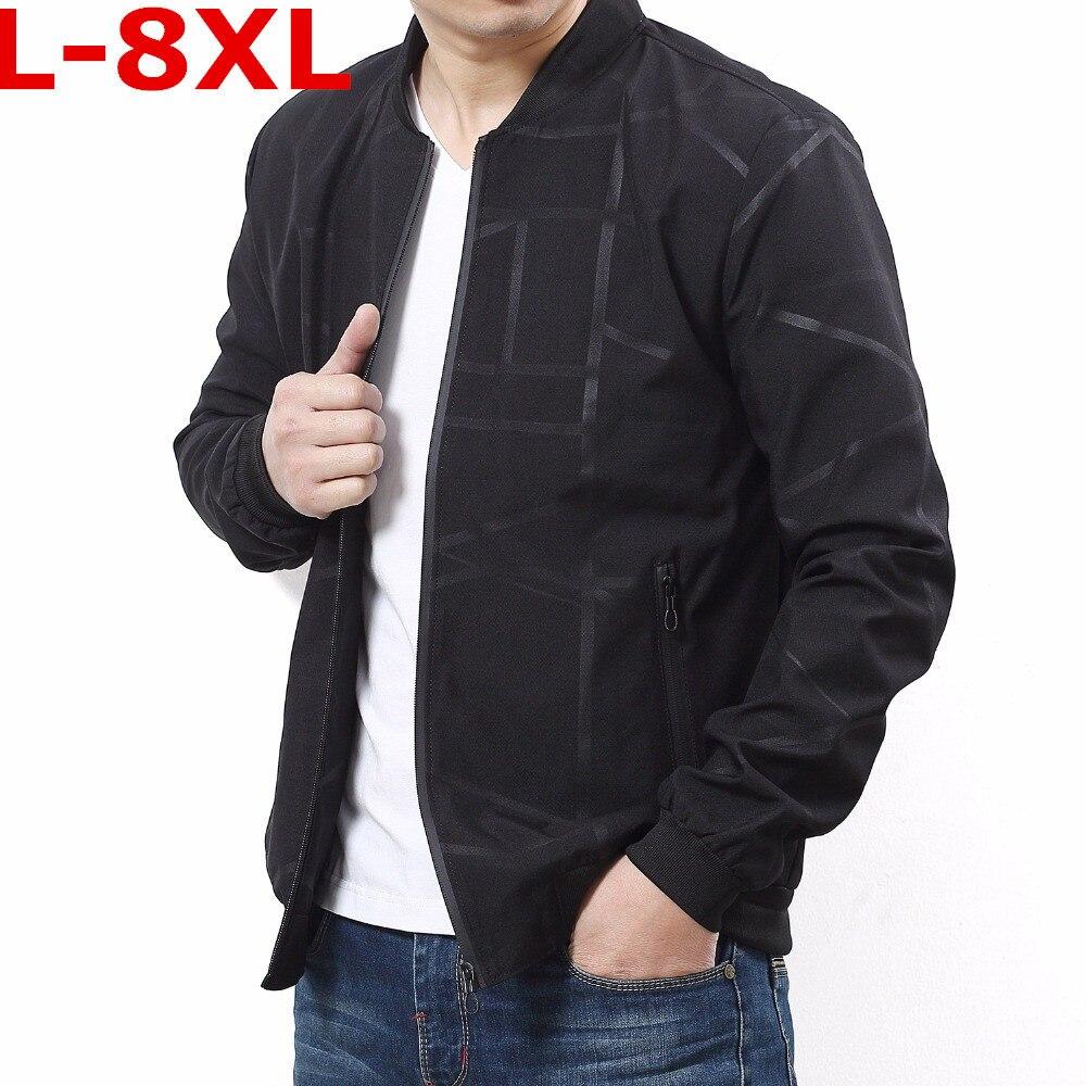Grande Veste Nouveau vent Mince 5xl Stand Printemps 2 Coupe Taille Qualité Casual Vestes Hommes 6xl Mâle Windrunner 2018 Manteaux 1 Automne 8xl rUErq8Zw