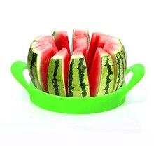 Color Al Azar de la muti-función Práctico Fruit Melon Slicer Cortador de Melón Sandía Fruta Slicer Herramienta de la Cocina