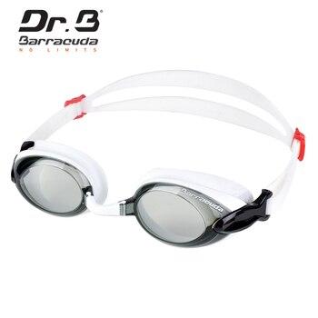 25b49ed836f8 Barracuda el B miopía gafas de natación Anti-niebla protección UV ...