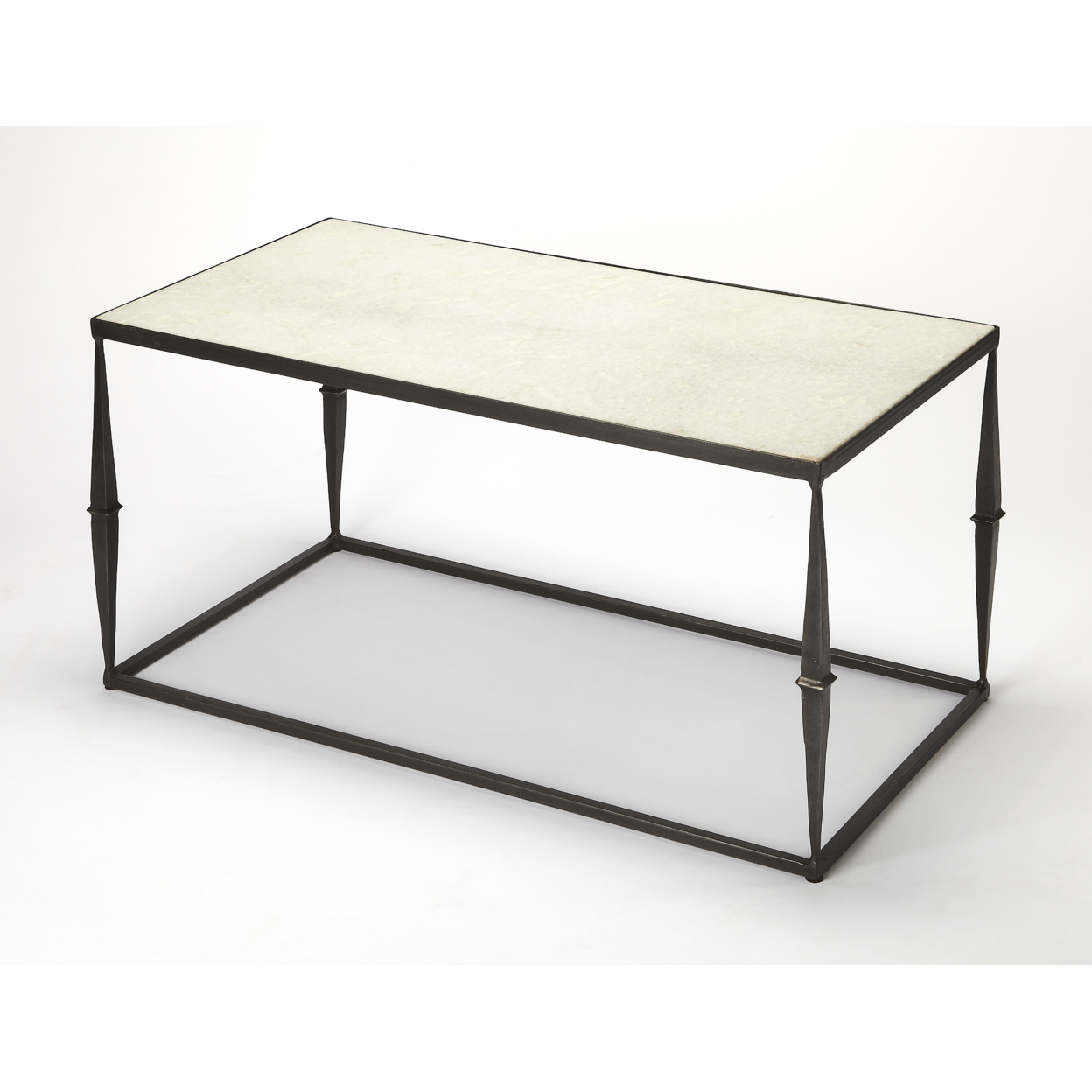Butler Jacoby White Marble Cocktail Table серьги butler and wilson