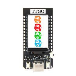 Ttgo t-display esp32 wifi e placa de desenvolvimento do módulo bluetooth para arduino 1.14 Polegada lcd