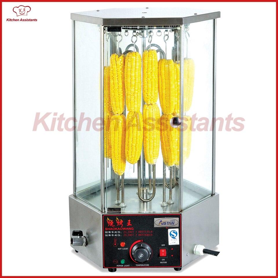 цена EB18-2 rotary corn roaster rotisserie machine of catering equipment