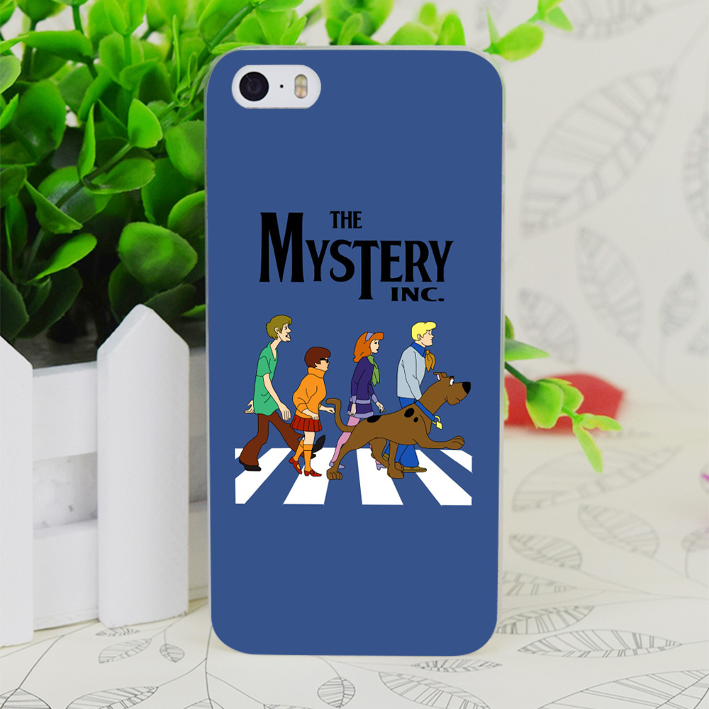 C1328 Scooby Doo Abbey Road прозрачный жесткий тонкий корпус кожного покрова для Apple IPhone 4 4S 4 г 5 5 г 5S SE 5C 6 6 S плюс