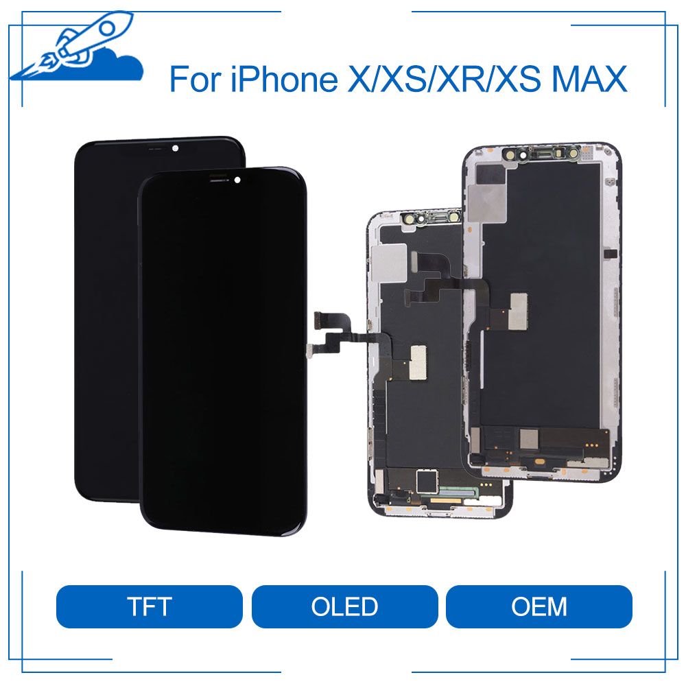 Elekworld Test Grade Tianma AMOLED OEM For iPhone X XS XR XS Max LCD Display