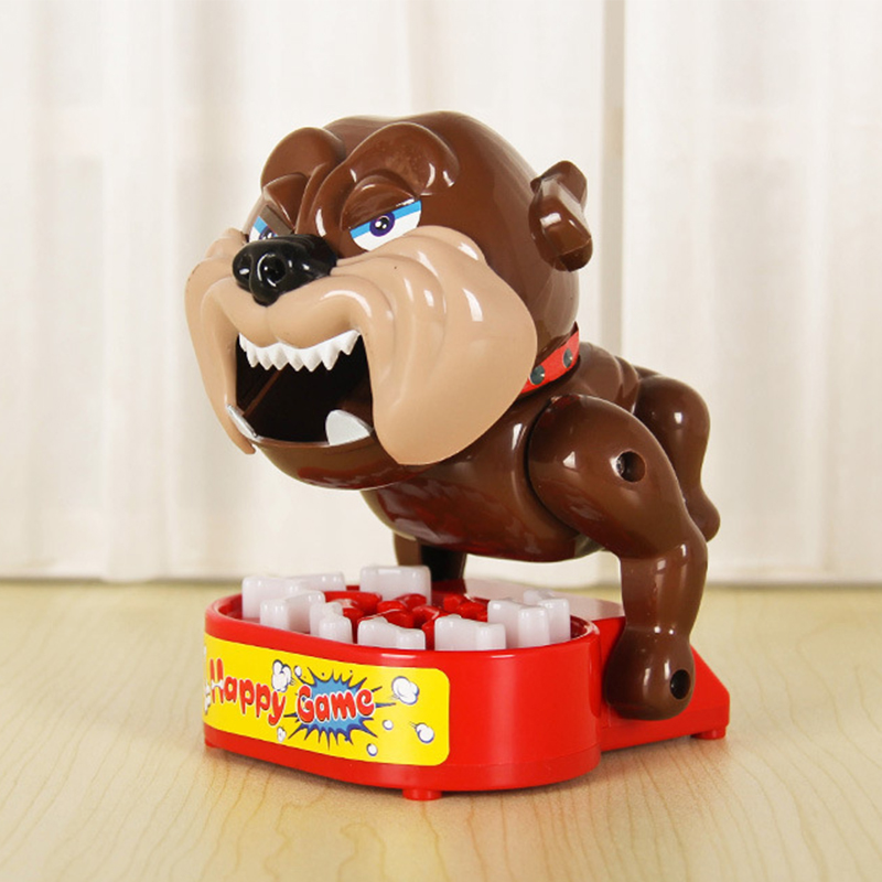 Tricky series toys Biting puppy novelty surprise pie face playful toy for children toy jokes for adults novedades 2019 smieszne