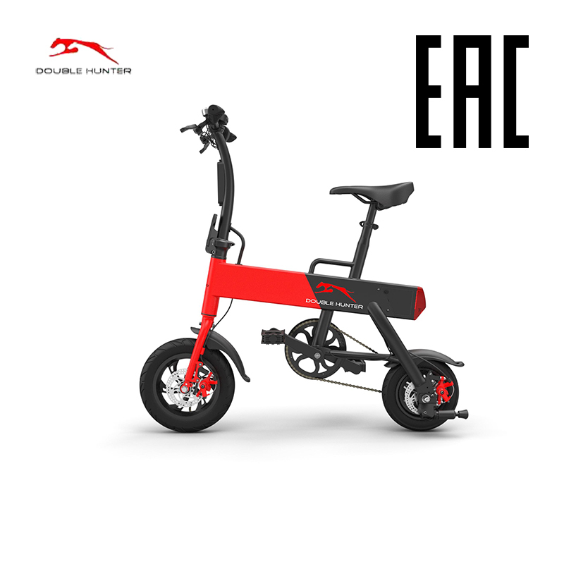 Electric bycicle Double Hunter P12+ Smart Folding Electric Bike 12inch Mini Electric Bicycle Ebike Lithium Battery Super Mini