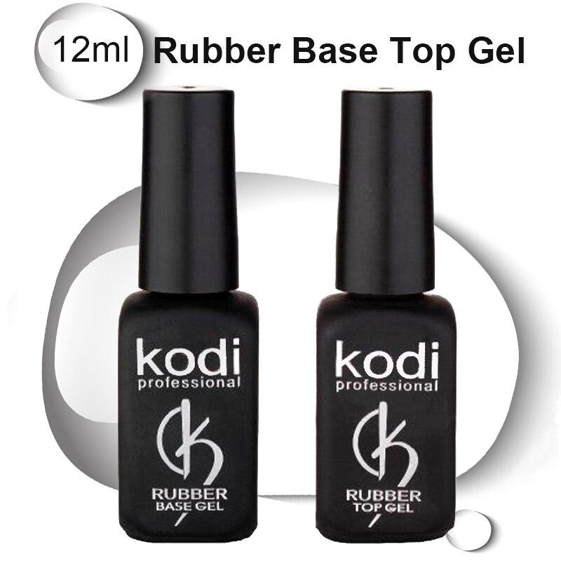 Kodi nail top UV Resin Base Gel Rubber nail Coat  LED Varnish unhas de gel gelLak Vernis Permanent GelPolish Primer Lacquer