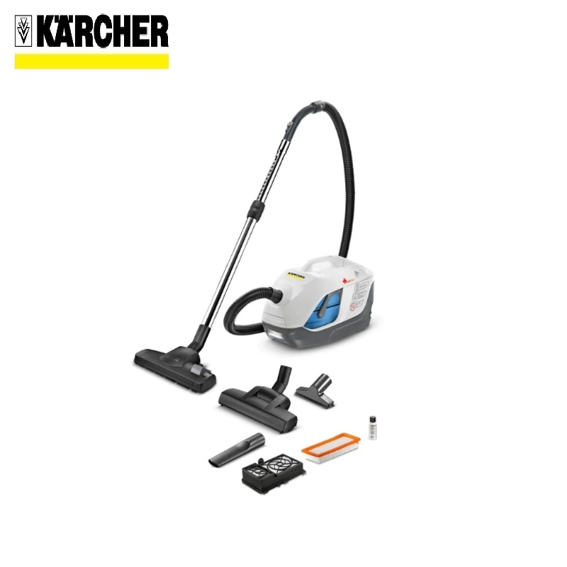Vacuum cleaner with aqua-filter KARCHER DS 6 PREMIUM MEDICLEAN Home vacuum Bagless vacuum cleaner  Hand vacuum cleaner Hoover filter foam felt kit for shark navigator vacuum cleaner nv22l navigator replacement compares to xf22 2 packs