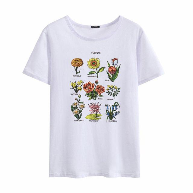 Camiseta Wild Flowers