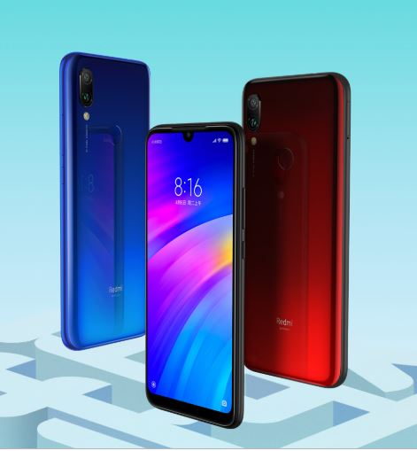Image 5 - Global Version Xiaomi Redmi 7 32GB ROM 3GB RAM (Brand New and Sealed Box) RED COLOR-in Cellphones from Cellphones & Telecommunications