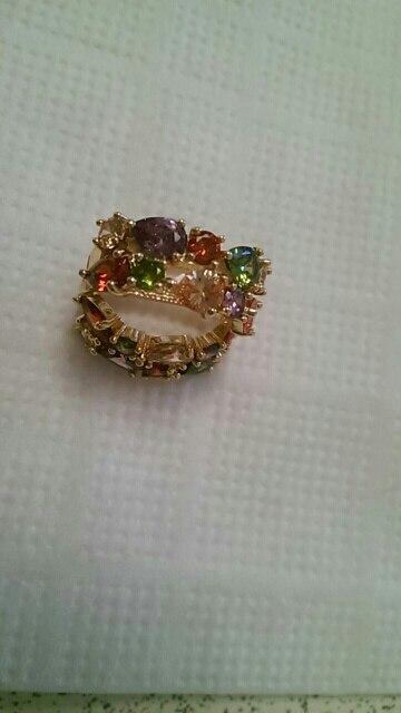 LUOTEEMI Лидер продаж Мона Лиза разноцветный AAA кубического циркония серьги для Для женщин девочек Рождественский подарок Brincos Ювелирные Изделия