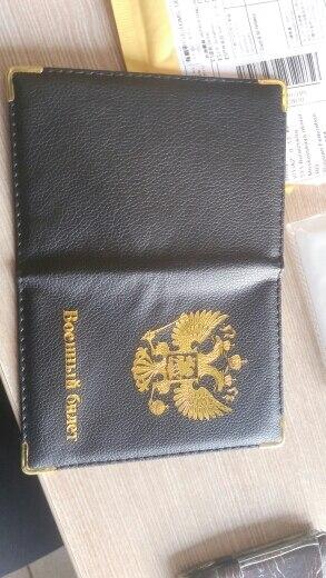 DIKEDAKU Nieuw ontwerp Rusland Paspoort Cover Dames Goud Nationaal embleem Paspoort Organisator Mode Reizen Paspoort Houder Leer photo review