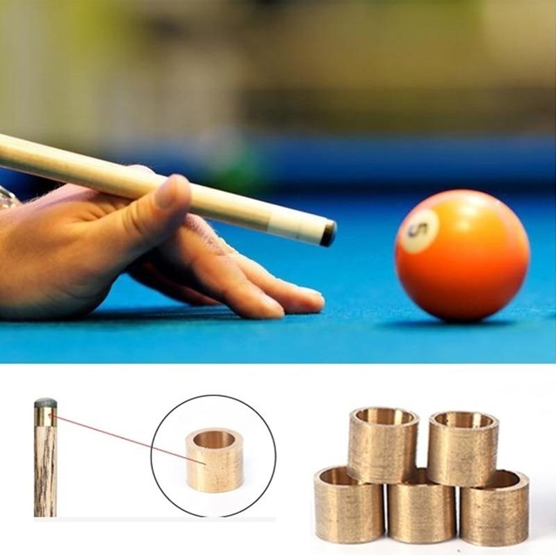 5pcs billiards snooker copper ferrule brass snooker pool cue ferrules cue SL