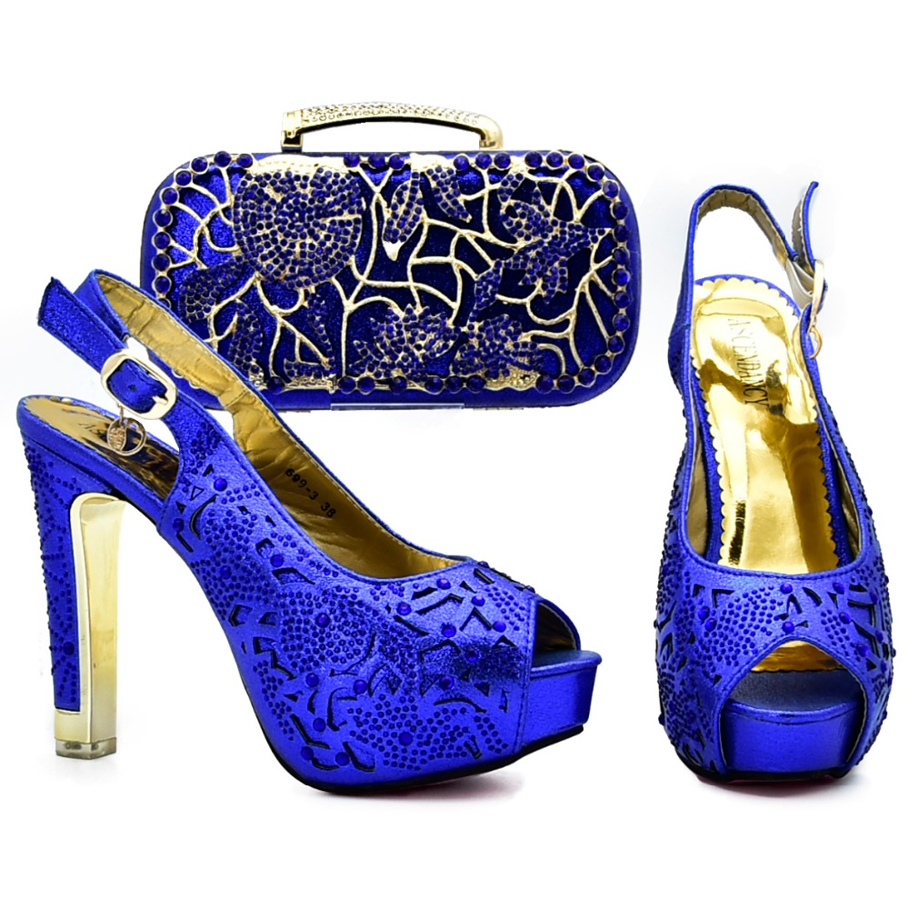 Sb8043 Lovely Pink Roll Clutches Bag With Matching High Heel 4 8 Women Fashion Heels Pumps Shoes Royal Blue And Set Sandal 47 Inches