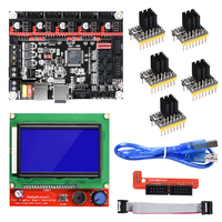 BIGTREETECH SKR V1.3 32 Bit Smoothieboard ARM Motherboard with 12864LCD+TMC2130 TMC2208 DRV8825 Driver 3D Printer Parts Gen L