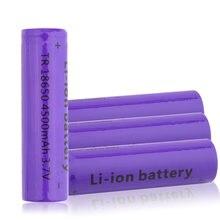 Аккумуляторная литиевая батарея 18650 аккумулятор 4500 мАч 37