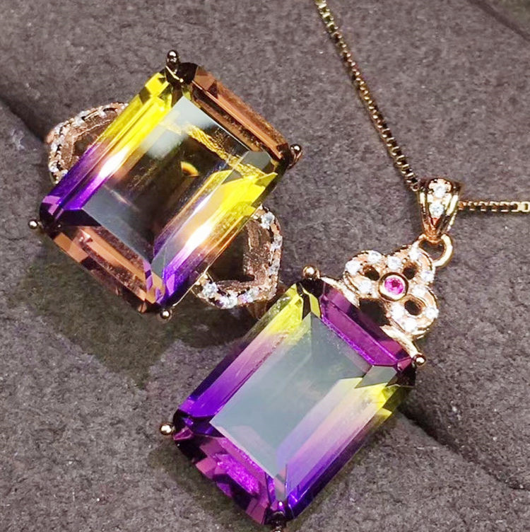 925 Sterling Silver X Gemstone \u3010Aquarius Necklace\u3011Constellation Necklace