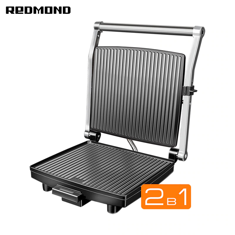 Electric grill Redmond SteakMaster RGM-M800 | size 385х370х140mm electric grill tefal gc241d38 electric griddles press grill