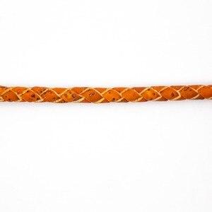 Image 5 - 5mm 꼰 오렌지 라운드 코르크 코드 포르투갈어 코르크 쥬얼리 용품 결과 코드 비건 코르크 코드 COR 382