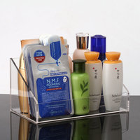 High Quality Clear Acrylic Makeup Storage Box Nail Polish Rack Lipstick Cosmetic Organizer Remote Controller Holder