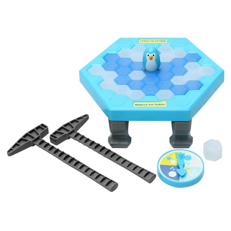 Funtok сохранить Пингвин Ice дети игра-головоломка перерыв ледяная глыба Молотки ловушка партии игрушка симулировать ледокол