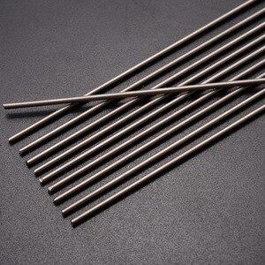 Image 1 - Tiges de soudage en titane Grade 5, 10 pièces, Gr.5, 6al 4v, barre ronde, Ti, 2mm de diamètre, résistance à la Corrosion