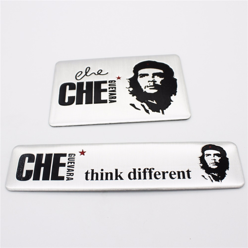Che Guevara Think Different Revolutionary Free Fighter Hero Car Sticker For Citroen BMW AUDI VW FORD TOYOTA BENZ KIA TEANA LADA car floor mats covers free shipping 5d for toyota honda for nissan hyundai buick for ford audi benz for bmw car etc styling