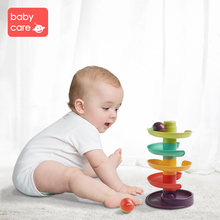 Babycare Plastic Ball Track Game for Children Colourful Music Fun Toy Intelligence Early Educational