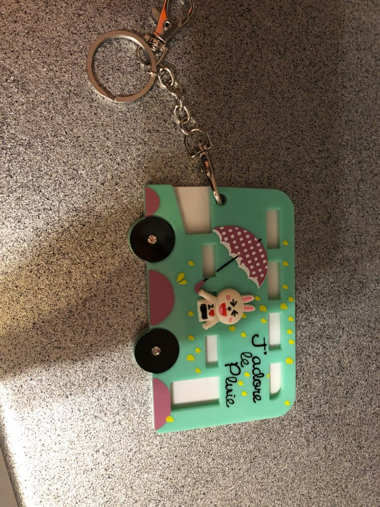 2018Cute card case Key holder Bank Credit Card Holders Card Bus ID Holders Identity Badge with Cartoon Kid Birthday Gift photo review