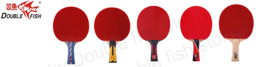 Double fish9A Double en fiber de carbone tennis de table raquette 7 ... db4bfa29e48