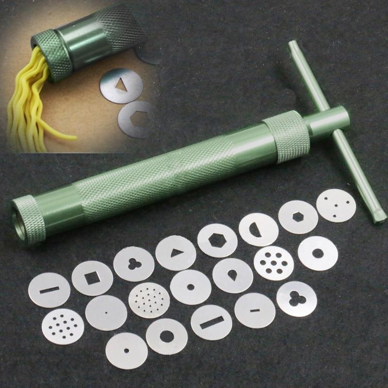 Stainless Steel Sugar Paste Extruder Craft Gun Tips Craft ...
