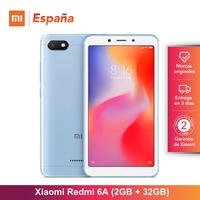 [Global Version for Spain] Xiaomi Redmi 6A (Memoria interna de 32GB, RAM de 2GB, Pantalla de 5,45 ,Camara de 13 MP) Movil
